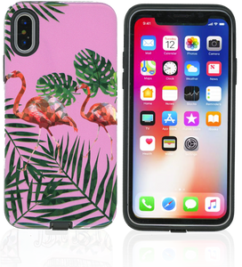 iPhone X MM Fancy Design Flamingo