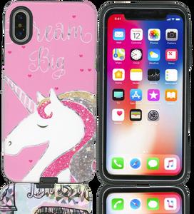 iPhone X MM Fancy Design Unicorn