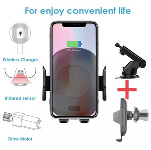 Rapid Fast Wireless Car Charger W Infrared sensor