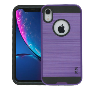iPhone XR MM Slim Dura Metal Purple