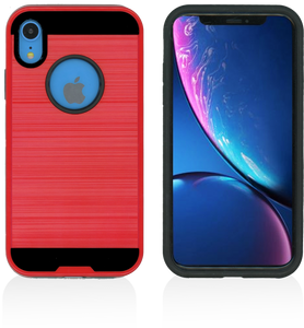 iPhone XR MM Slim Dura Metal Red