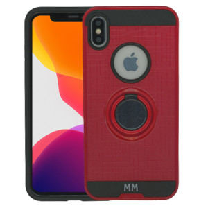 iPhone XS Max MM Ring Stand Case Red