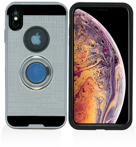 iPhone XS Max MM Ring Stand Case Gray