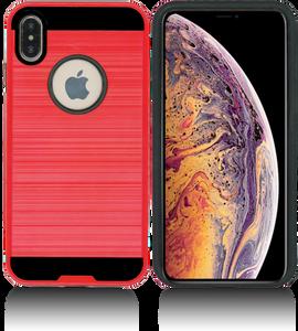 iPhone XS Max MM Slim Dura Metal Red
