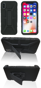 iPhone X/XS MM Rugged Combo Black