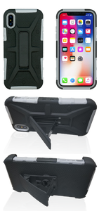 iPhone X/XS MM Rugged Combo Gray