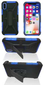 iPhone X/XS MM Rugged Combo Blue