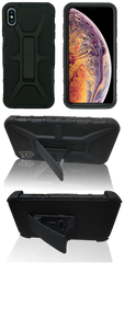 iPhone XS Max MM Rugged Combo Black