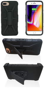 iPhone 8+/7+/6+ MM Rugged Combo Black