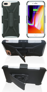 iPhone 8+/7+/6+ MM Rugged Combo Gray