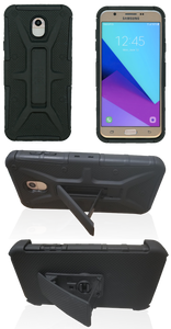 Samsung Galaxy J7 (2018) MM Rugged Combo Black