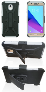 Samsung Galaxy J7 (2018) MM Rugged Combo Gray