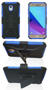 Samsung Galaxy J7 (2018) MM Rugged Combo Blue