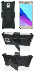Samsung J3 (2018) MM Rugged Combo Gray