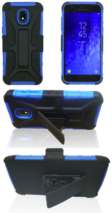 Samsung J3 (2018) MM Rugged Combo Blue
