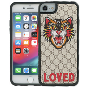 iPhone 8/7/6 MM Pattern Tiger Case