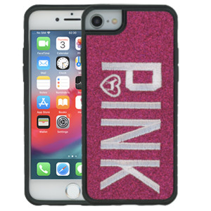iPhone 8/7/6 MM Pink With Pink Design Case