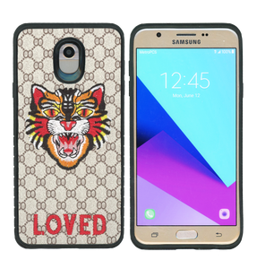 Samsung Galaxy J7(2018) MM Pattern Tiger Case