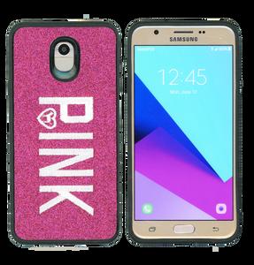 Samsung Galaxy J7(2018) MM Pink With Pink Design Case