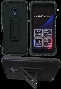 Alcatel Evolve 1X MM Opal Kickstand Black