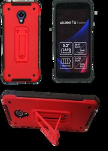 Alcatel Evolve 1X MM Opal Kickstand Red