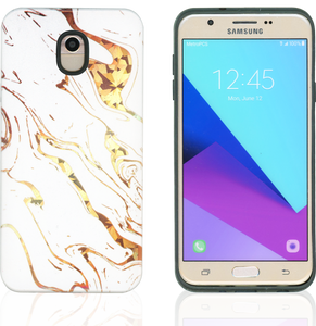 Samsung Galaxy J7(2018) MM Fancy Design Shiny Marble
