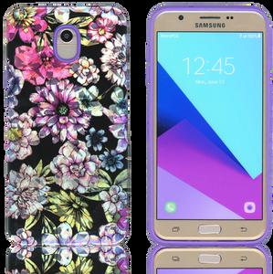 Samsung Galaxy J7(2018) MM Fancy Design Purple Flower