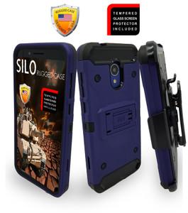 Alcatel Evolve 1X MM Silo Rugged Case Navy