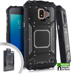 Samsung Galaxy J2 Core/J2 Pure MM Magnetic Rugged Case  Black