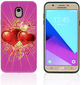 Samsung Galaxy J7(2018) MM Fancy Design Heart