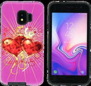 Samsung Galaxy J2 Core/J2 Pure MM Fancy Design Heart