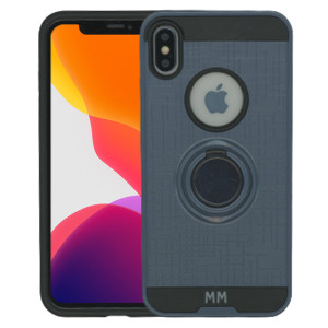 iPhone XS Max MM Ring Stand Case Navy