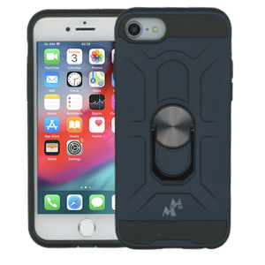 iPhone 8/7 MM Ring Stand Case Navy