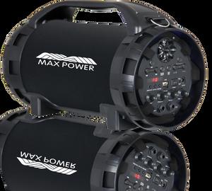 Max Power 525BZ/Heavy Duty Metal Bazooka Black