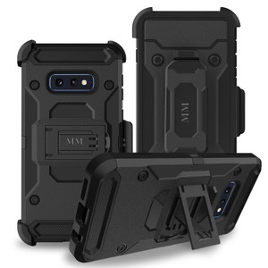 Samsung Galaxy S10 Lite MM Silo Rugged Case Black