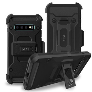 Samsung Galaxy S10 Plus MM Silo Rugged Case Black