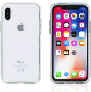 iPhone XS MM Crystal Side Spine White