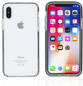 iPhone XS MM Crystal Side Spine Black