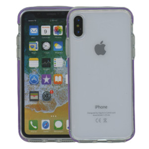 iPhone XS MM Crystal Side Spine Purple
