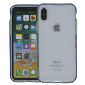 iPhone XS MM Crystal Side Spine Blue