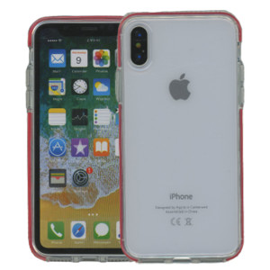 iPhone XS MM Crystal Side Spine Red