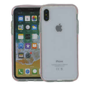 iPhone XS MM Crystal Side Spine Pink