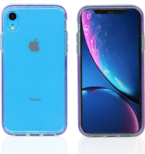 iPhone XR MM Crystal Side Spine Purple