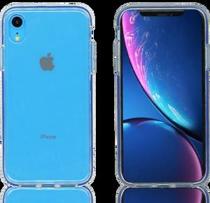 iPhone XR MM Crystal Side Spine Blue