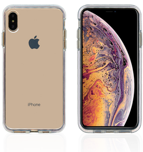 iPhone XS Max MM Crystal Side Spine White