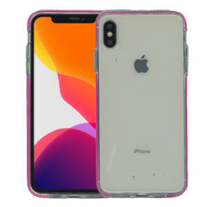 iPhone XS Max MM Crystal Side Spine Hot Pink
