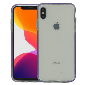 iPhone XS Max MM Crystal Side Spine Purple