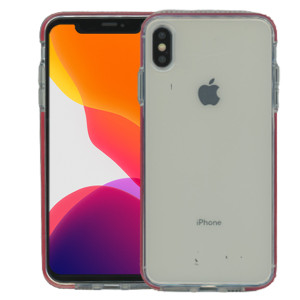 iPhone XS Max MM Crystal Side Spine Red