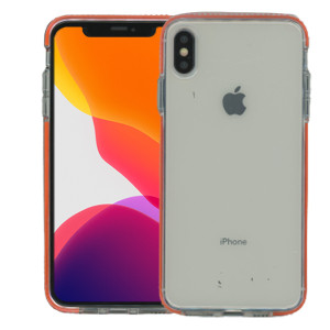 iPhone XS Max MM Crystal Side Spine Orange