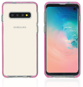 Samsung Galaxy S10 MM Crystal Side Spine Hot Pink